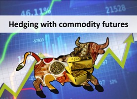 Hedging with commodity futures